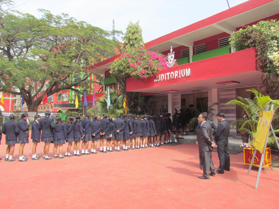 Blessing Ceremony of Class-XII of all Bishop Group Schools held at